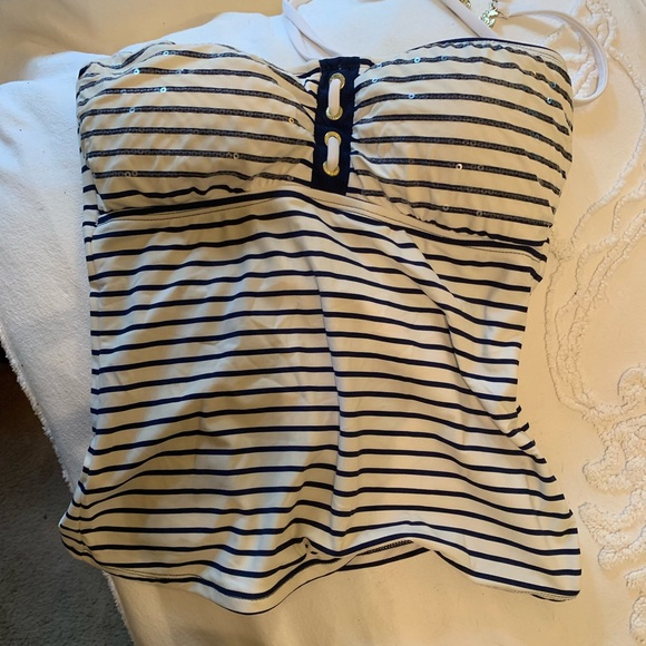Sperry Other - Sperry Top-Sider Tankini Top Sz Small